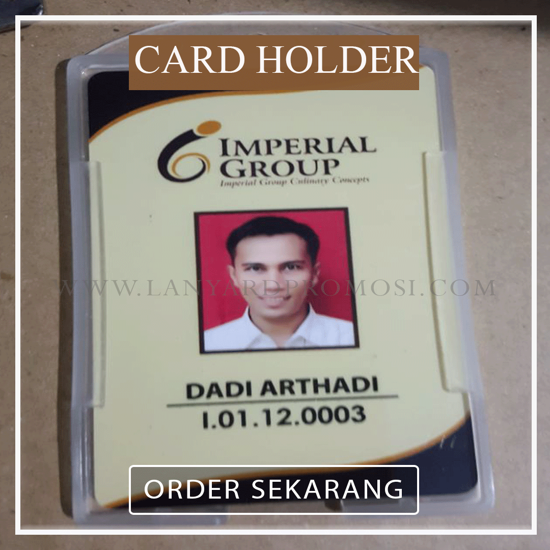 Jual Card Holder Transparan Berkualitas Di Bungur