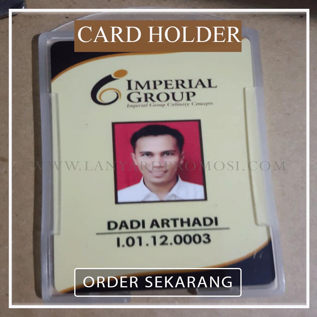 Jual Card Holder Transparan Berkualitas Di Bungur