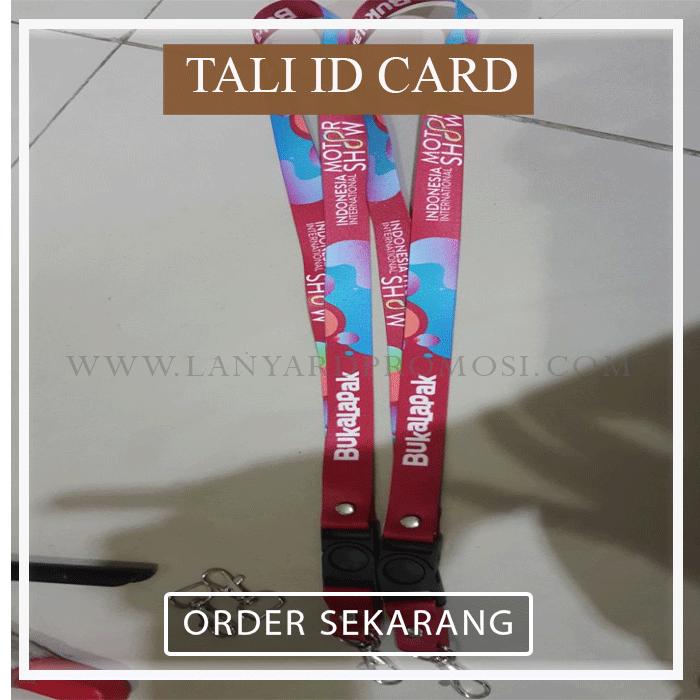 Promosi Tali Id Card Jakarta
