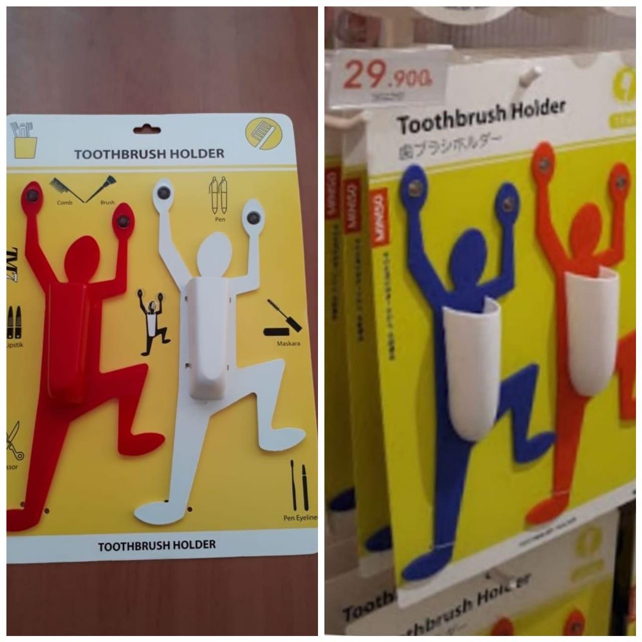Toothbrush Holder Alat Penyimpanan Sikat Gigi